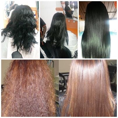 Permanent hair straightening treatments products services phoenix durban - Hair straightening salon treatments ...